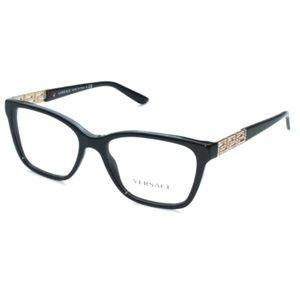Versace Eyeglasses 3192-B GB1 52/16 140 Black